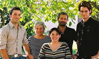 Jean-Luc DAVID et ses enfants