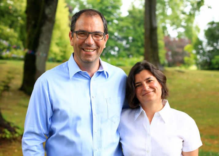 Maria et Damien Chombard