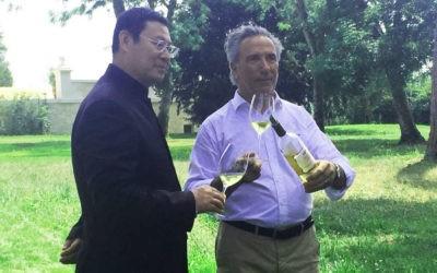 James Zhou & l'inauguration du Château Renon…