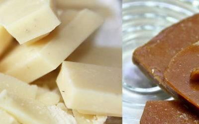 Mousse au chocolat blanc à la pomme caramel beurre salé