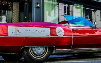 Bordeaux, aux couleurs du Cadillac Tour