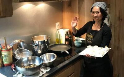 Succès pour l'atelier de cuisine spécial Japon