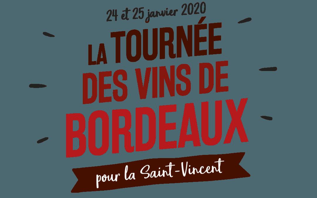Les vignerons Cadillac Côtes Bordeaux à la Saint-Vincent