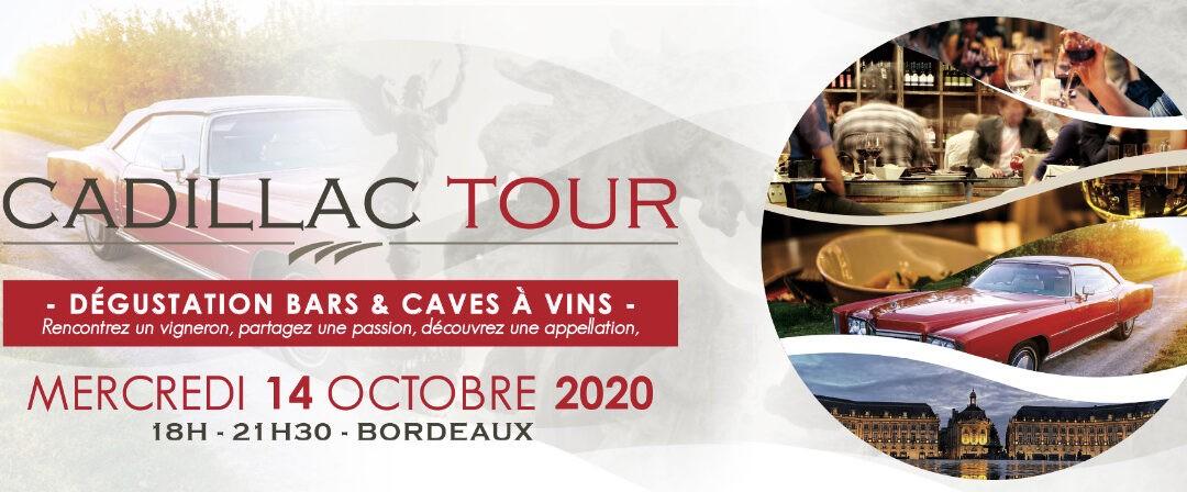 3ième édition du Cadillac Tour à Bordeaux