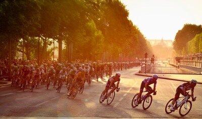 Rencontre entre le Tour de France et nos vignobles